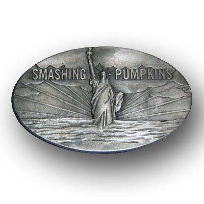 Pumpkins スマッシング・パンプキンズ Statue of Liberty ベルトバックル