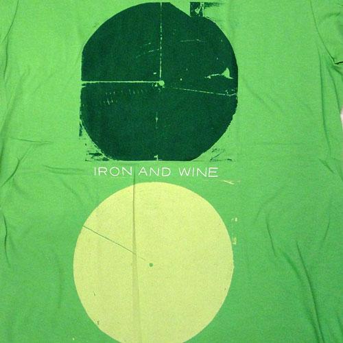 Iron and Wine アイアン・アンド・ワイン Around the Well Tシャツ (Girl's Lサイズ)                                         [4128]