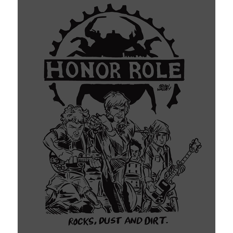 HONOR ROLE Tシャツ