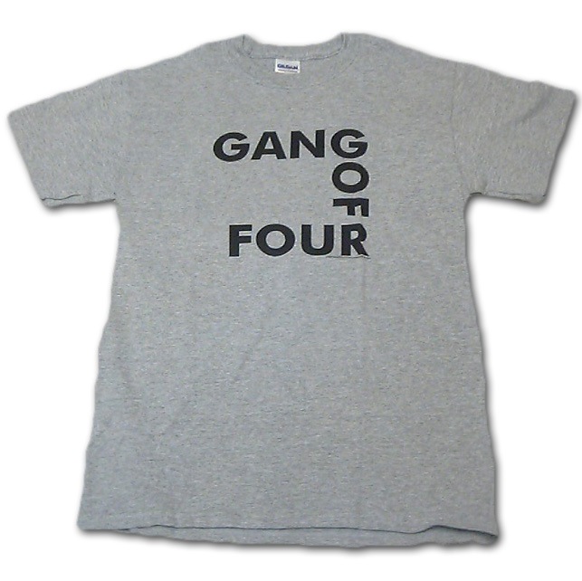 GANG OF FOUR Tシャツ
