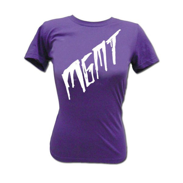 画像1: MGMT Scratch on Purple Tシャツ (Girl's Mサイズ)<セール特価商品> (1)