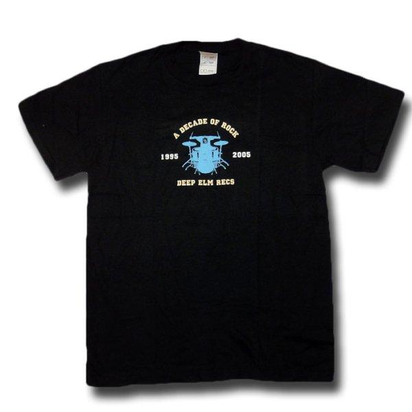 画像1: Deep Elm Records ディープ・エルム Decade Tシャツ<セール特価商品> (1)