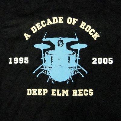 画像1: Deep Elm Records ディープ・エルム Decade Tシャツ<セール特価商品>
