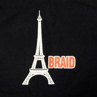 画像1: Braid ブレイド - Eiffel Tower Tシャツ<セール特価商品>