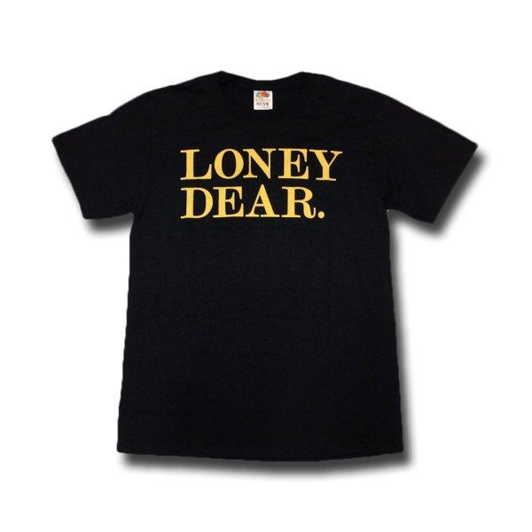 画像1: Loney Dear ロニー・ディアー - Logo Tシャツ (Sサイズ)<セール特価商品> (1)