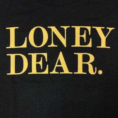 画像1: Loney Dear ロニー・ディアー - Logo Tシャツ (Sサイズ)<セール特価商品>