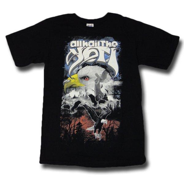 画像1: All Hail The Yeti オール・ヘイル・ザ・イェティ Eagle Tシャツ<セール特価商品> (1)