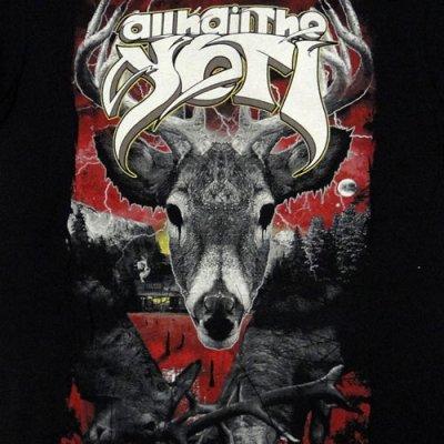 画像1: All Hail The Yeti オール・ヘイル・ザ・イェティ Deer Tシャツ<セール特価商品>