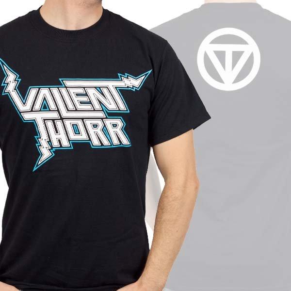 画像1: Valient Thorr バリアント・ソール Logo Tシャツ (Sサイズ)<セール特価商品> (1)