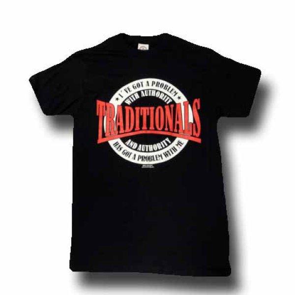 画像1: The Traditionals ザ・トラディショナルズ Authority Tシャツ (Sサイズ)<セール特価商品> (1)