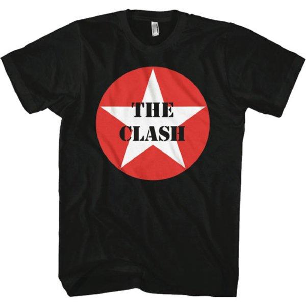 画像1: The Clash ザ・クラッシュ Star Logo Tシャツ (1)