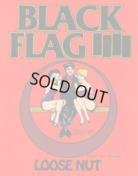 画像1: Black Flag ブラック・フラッグ Loose Nut ステッカー (1)