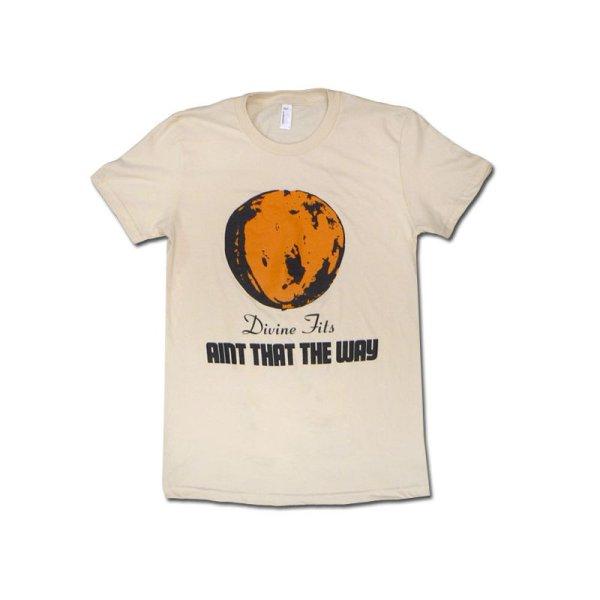 画像1: Divine Fits ディヴァイン・フィッツ Ain't That The Way Orange Tシャツ [Girl's Lサイズ]<セール特価商品> (1)