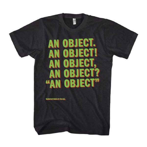 画像1: No Age バンドTシャツ ノー・エイジ An Object BLACK<セール特価商品> (1)