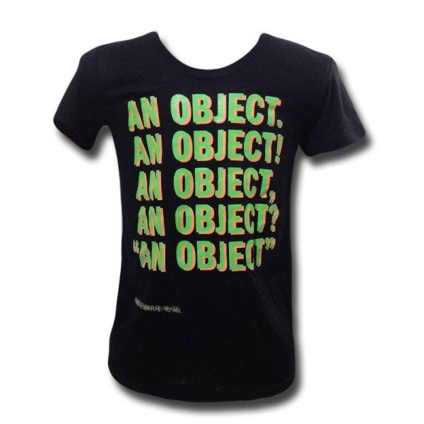 画像1: No Age バンドTシャツ ノー・エイジ An Object BLACK レディース (1)