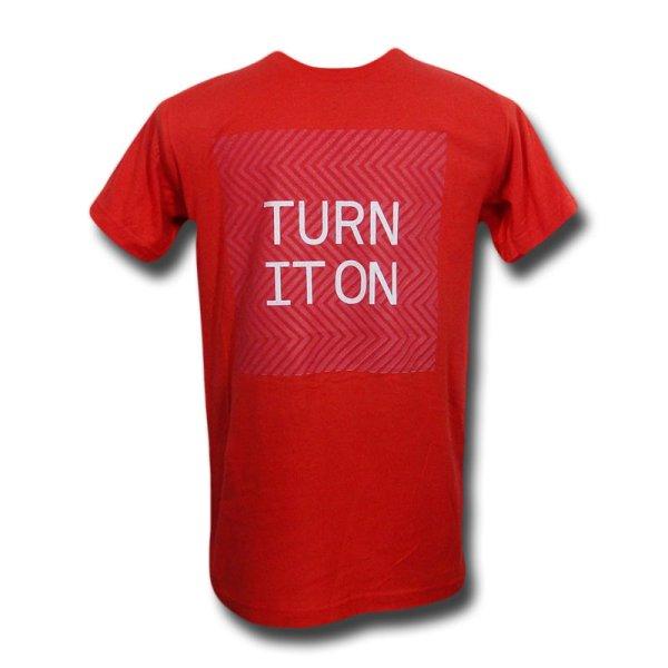 画像1: Pet Shop Boys Tシャツ ペット・ショップ・ボーイズ Turn It On 2013 Tour ORANGE (1)