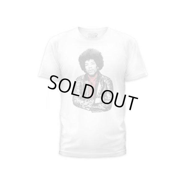 画像1: Jimi Hendrix Tシャツ ジミ・ヘンドリックス Red Scarf (1)