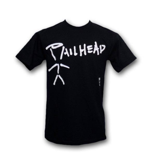 画像1: Pailhead バンドTシャツ ペイルヘッド Stickman Logo (1)