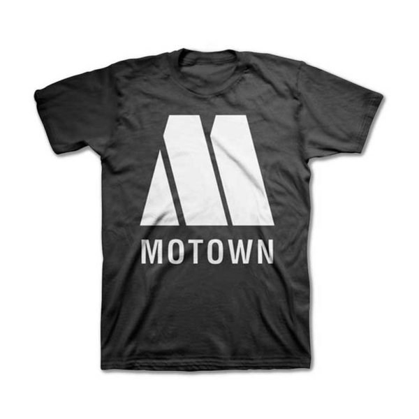 画像1: Motown レーベルTシャツ モータウン Logo (1)