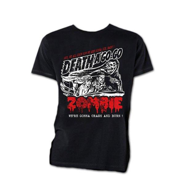 画像1: Rob Zombie バンドTシャツ ロブ・ゾンビ Zombie Crash (1)