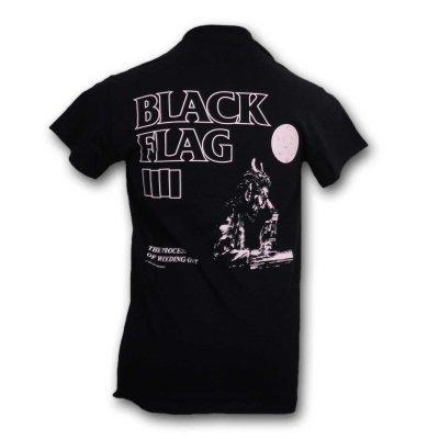 画像1: Black Flag バンドTシャツ ブラック・フラッグ Process Of Weeding Out BLACK×PINK