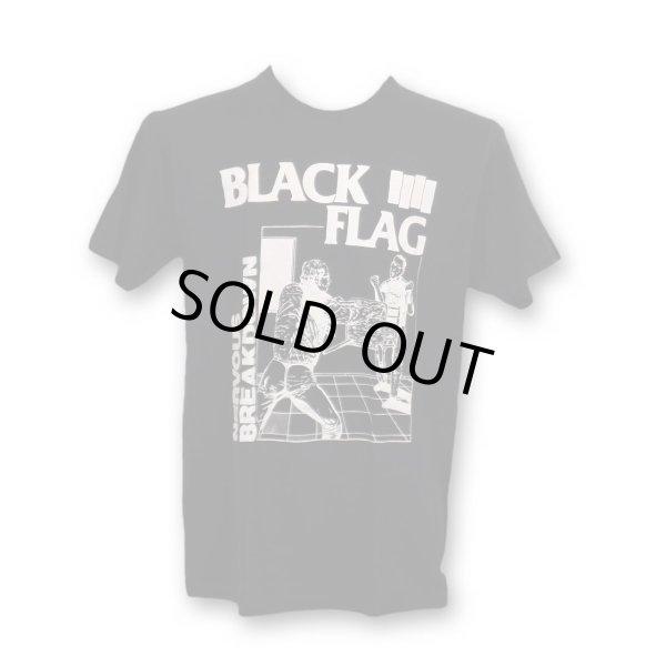 画像1: Black Flag バンドTシャツ ブラック・フラッグ Nervous Breakdown BLACK (1)