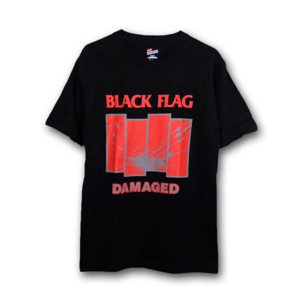画像1: Black Flag バンドTシャツ ブラック・フラッグ Damaged BLACK (1)