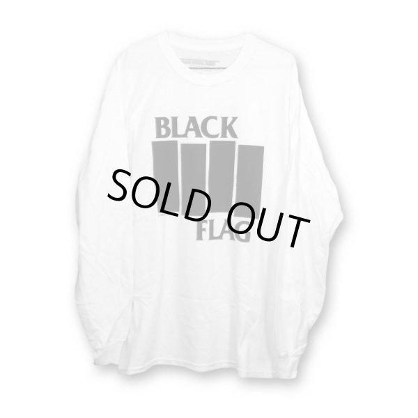 画像1: Black Flag ロングスリーヴTシャツ ブラック・フラッグ Bars & Logo (1)