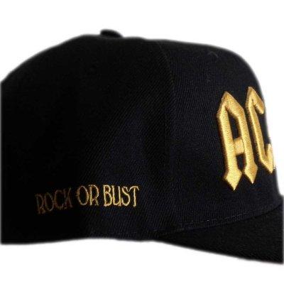 画像1: AC/DC スナップバックキャップ エーシー・ディーシー Gold Logo
