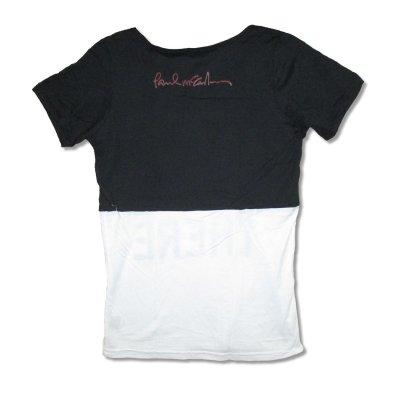 画像1: Paul McCartney レディースTシャツ ポール・マッカートニー Stencil Name