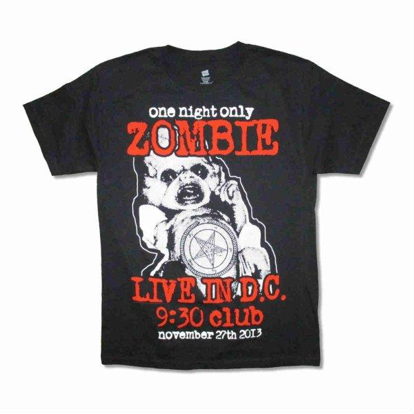画像1: Rob Zombie バンドTシャツ ロブ・ゾンビ 9:30 Club (1)