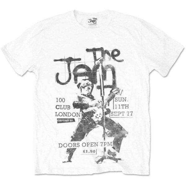 画像1: The Jam バンドTシャツ ザ・ジャム 100 Club (1)