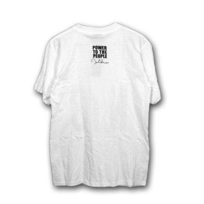 画像1: John Lennon Tシャツ ジョン・レノン NYC WHITE