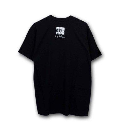 画像1: John Lennon Tシャツ ジョン・レノン NYC BLACK