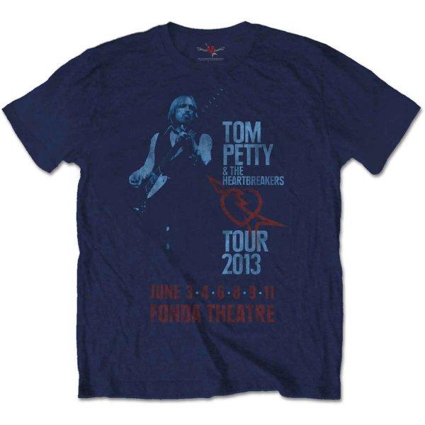 画像1: Tom Petty And The Heartbreakers Tシャツ トム・ペティ Fonda Theatre (1)