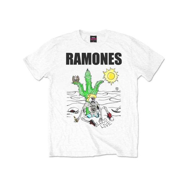 画像1: Ramones バンドTシャツ ラモーンズ Loco Live (1)