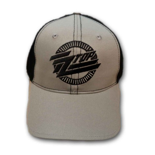 画像1: ZZ Top アジャスタブルキャップ ZZトップ Circle Logo (1)