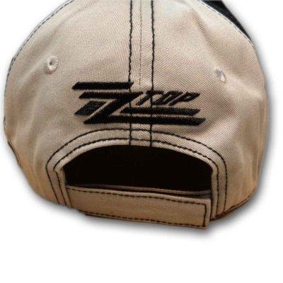 画像1: ZZ Top アジャスタブルキャップ ZZトップ Circle Logo