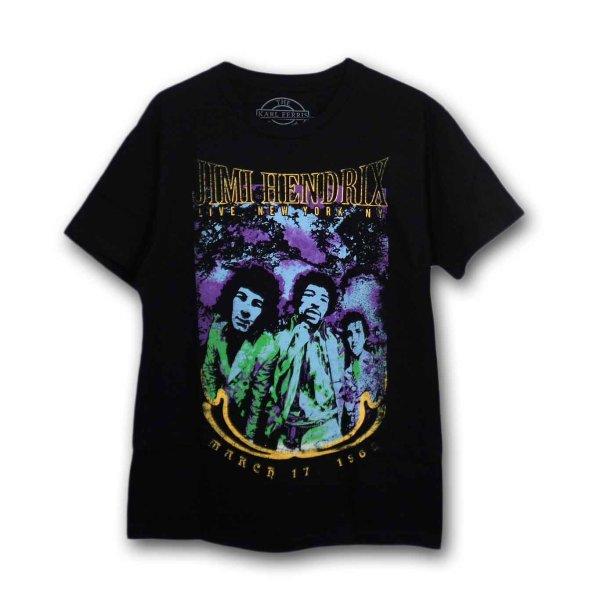 画像1: Jimi Hendrix バンドTシャツ ジミ・ヘンドリックス Psychedelic (1)
