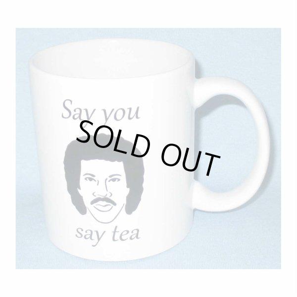 画像1: Lionel Richie マグカップ ライオネル・リッチー Say You Say Tea (1)