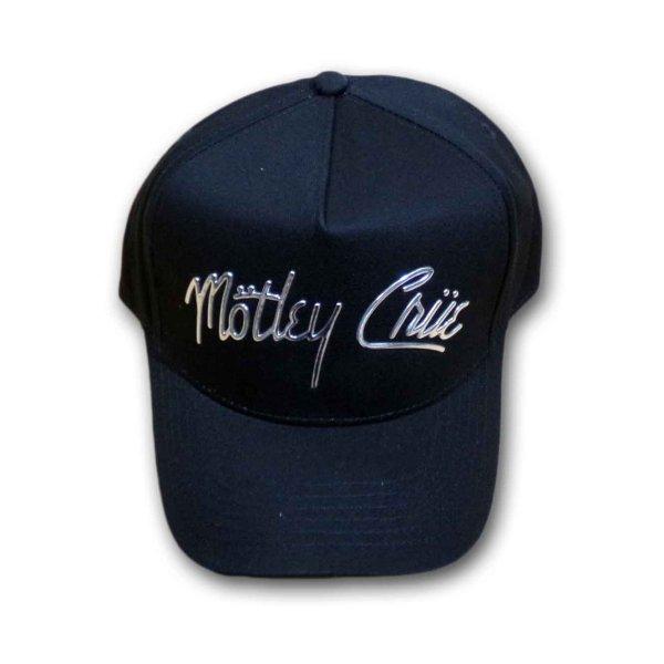 画像1: Motley Crue アジャスタブルキャップ モトリー・クルー Chrome Logo (1)