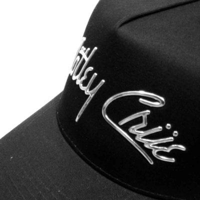 画像1: Motley Crue アジャスタブルキャップ モトリー・クルー Chrome Logo
