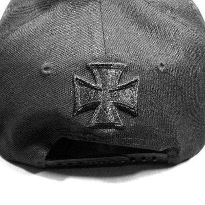 画像1: Motorhead スナップバックキャップ モーターヘッド Black Logo