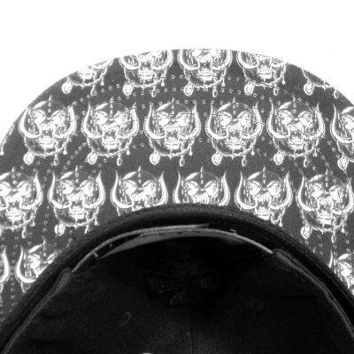 画像2: Motorhead スナップバックキャップ モーターヘッド Black Logo