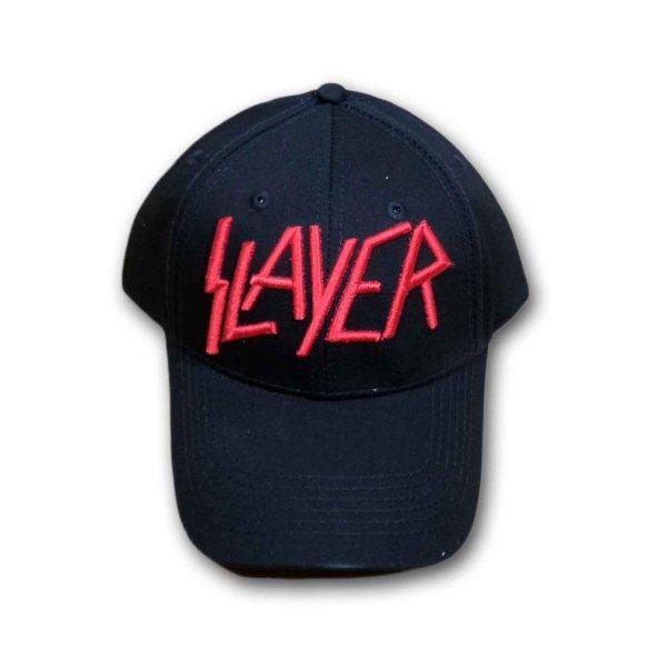 画像1: Slayer アジャスタブルキャップ スレイヤー Red Logo (1)