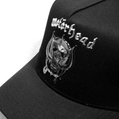 画像1: Motorhead アジャスタブルキャップ モーターヘッド Chrome Warpig Logo
