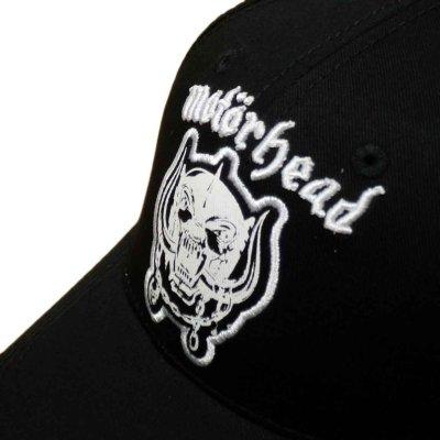 画像1: Motorhead アジャスタブルキャップ モーターヘッド Warpig Logo