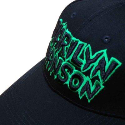 画像1: Marilyn Manson アジャスタブルキャップ マリリン・マンソン Logo
