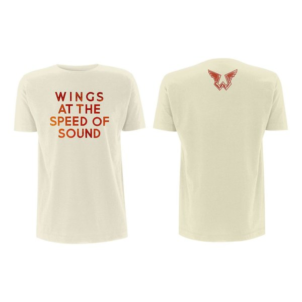 画像1: Paul McCartney Tシャツ ポール・マッカートニー Wings At The Speed Of Sound (1)
