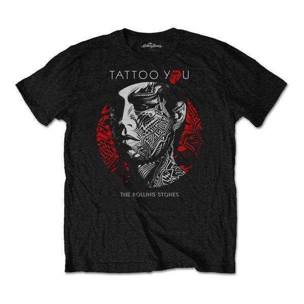 画像1: Rolling Stones バンドTシャツ ローリング・ストーンズ Tattoo You Circle (1)